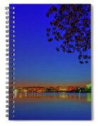Cherry Blossoms Sunrise Spiral Notebook