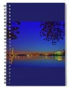 Cherry Blossoms Sunrise Spiral Notebook