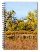 Cherry Creek Pond In Autumn Spiral Notebook