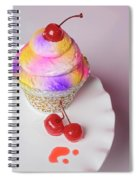 Cherry Cupcake Spiral Notebook