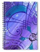 Cherry Om Spiral Notebook