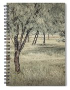 Cherry Orchard In Infrared Spiral Notebook