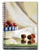 Cherry Still Life Spiral Notebook