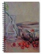 Cherry Still Life Pottery Red Still Life Art Still Life Painting Impressionist Painting Impression Spiral Notebook
