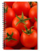 Cherry Tomatoes Fine Art Food Photography Spiral Notebook