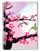 Cherry Tree Spiral Notebook
