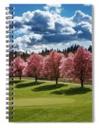 Cherry Tree Bloom Color Spiral Notebook