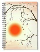Cherry Tree In Fall Spiral Notebook