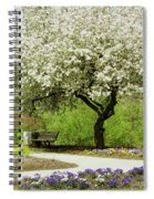Cherry Tree In Full Bloom Spiral Notebook