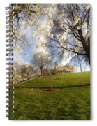 Cherry Trees In Bloom In Nashville Spiral Notebook