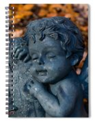 Cherub Sleeping Spiral Notebook