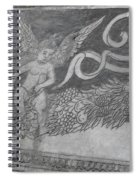 Cherub Stone Graffiti 2 Spiral Notebook