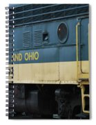 Chesapeake And Ohio Boxcar  Spiral Notebook