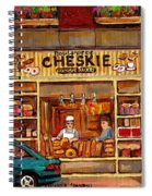 Cheskies Hamishe Bakery Spiral Notebook