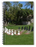 Chess At The Biltmore Spiral Notebook