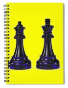 Chessmen Spiral Notebook