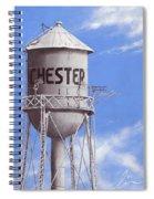 Chester Water Tower Ne Spiral Notebook