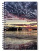 Chesterman Beach Sunset Spiral Notebook
