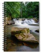 Chestnut Creek Falls  Spiral Notebook