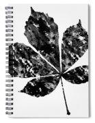 Chestnut Leaf Spiral Notebook