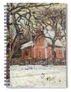 Chestnut Trees At Louveciennes Spiral Notebook