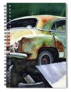 Chev At Rest Spiral Notebook