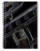 Chevrolet 10 Spiral Notebook