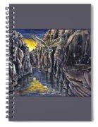 Chevlon Canyon Owl Spiral Notebook