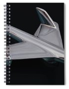 Chevrolet Bel Air Hood Ornament Spiral Notebook
