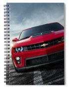Chevrolet Camaro Zl1 2012 Spiral Notebook