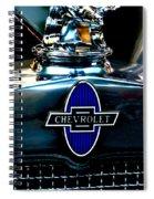 Chevrolet Hoodie Spiral Notebook