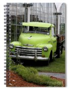 Chevrolet Old Spiral Notebook