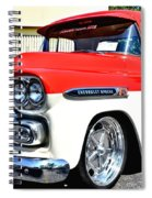 Chevy Apache Custom Hot Rod Truck Spiral Notebook