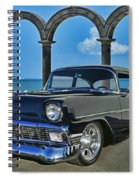 Chevy Belair In Mexico Spiral Notebook