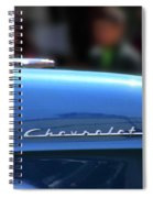 Chevy Blues Spiral Notebook
