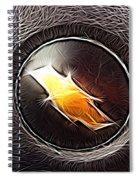 Chevy Bowtie Spiral Notebook