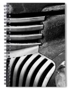 Chevy Grill Spiral Notebook