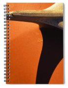 Chevy Hood Ornament Spiral Notebook