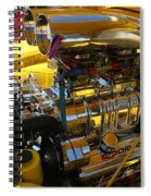 Chevy Motor - Side View Spiral Notebook