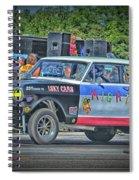 Chevy Nova Ss 359 Ci Spiral Notebook
