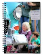 Chevy On Parade Spiral Notebook