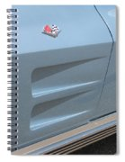 Chevy Scoops Spiral Notebook