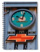 Chevy Times Square Clock Spiral Notebook