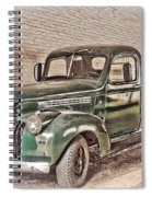 Chevy Truck Spiral Notebook