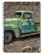 Chevy Truck Route 66 Spiral Notebook
