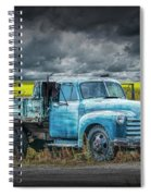 Chevy Truck Stranded By The Side Of The Road Spiral Notebook