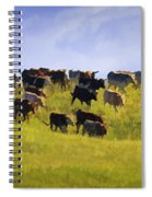 Cheyenne Cattle Roundup Spiral Notebook