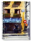 Chez Paul Spiral Notebook