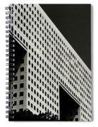 Chiaroscuro Construction Spiral Notebook