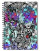 Chic Skull Spiral Notebook